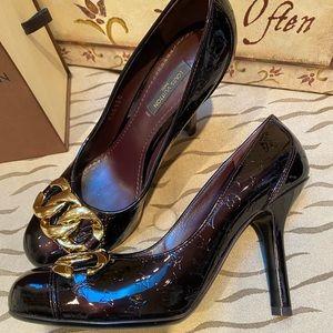 Louis Vuitton Patent Leather Shoes.